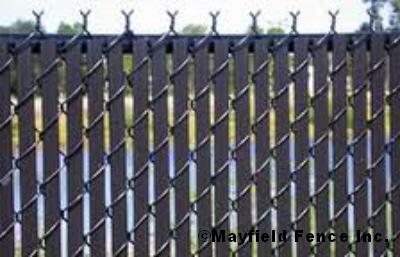 Chain link - Most frequent fence materials ...